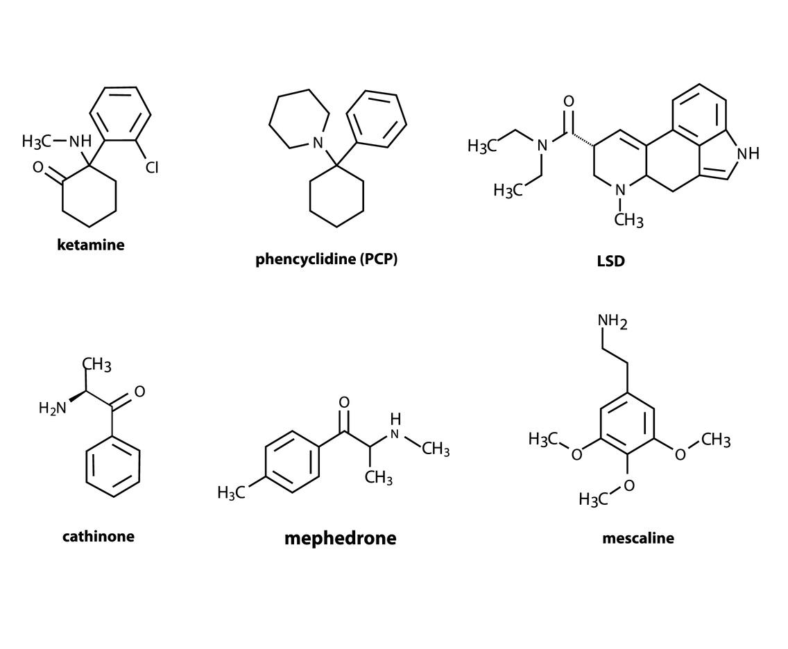 Lsd Chemistry Structure Vector Art Amp Graphics