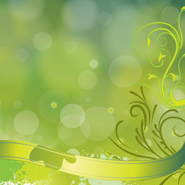 Green Floral Vector Background Vector Art Graphics Freevector Com