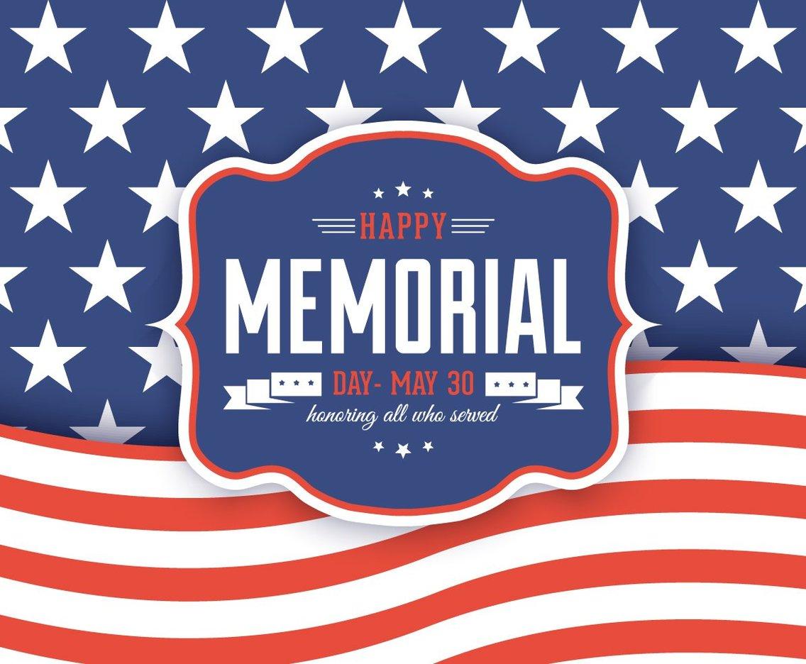 Happy Memorial Day Background Vector Art Amp Graphics