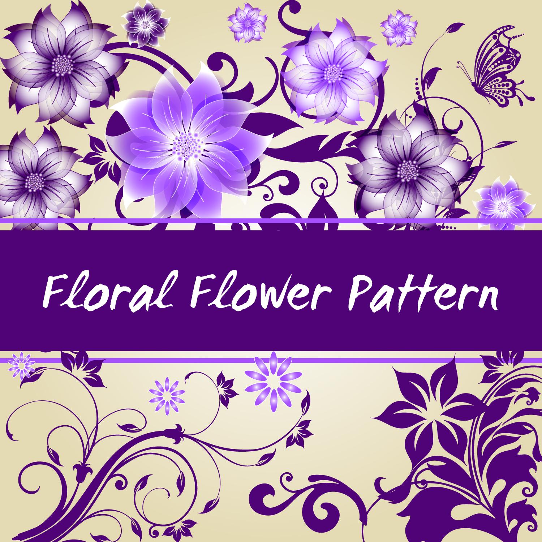 Floral Wallpaper Vector Vector Art Graphics Freevector Com