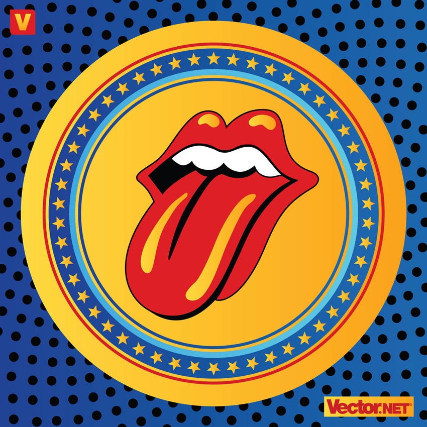 Tongue Rolling Stones Sticky Fingers