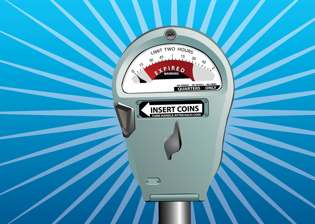Parking Meter Vector Vector Art Amp Graphics Freevector Com