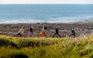 Cliff Top Yoga