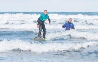 Surfer and Yoga Cornwall