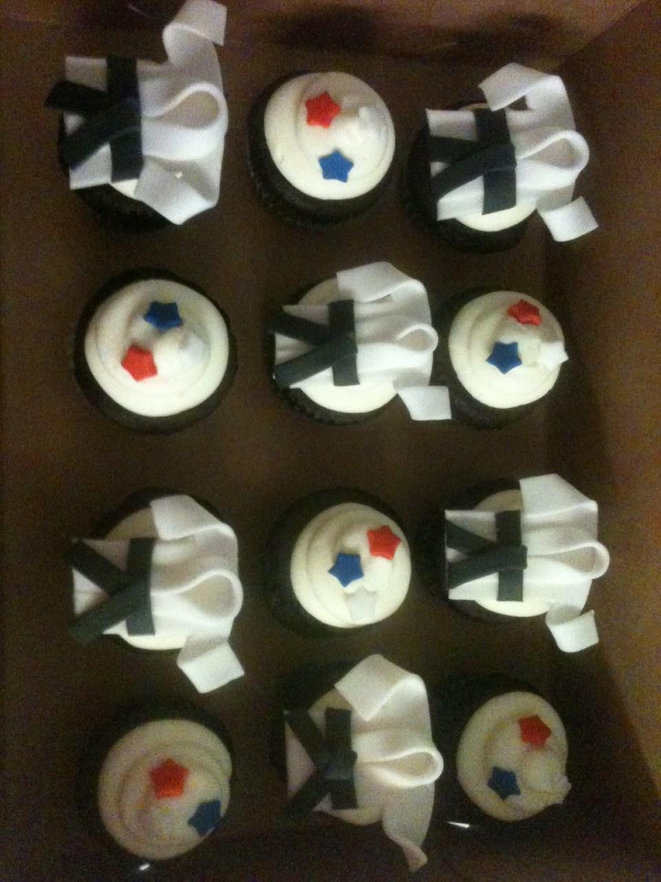 Karate Cupcakes Cake Envy