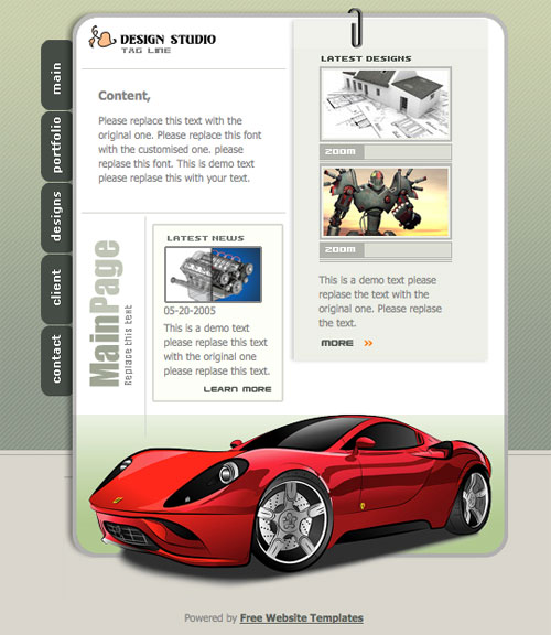 template21 Useful 3D And PSD Web Elements For Designers 30 Free Downloads