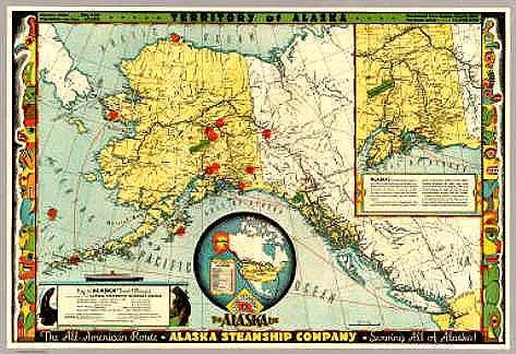 Alaska Steamship Company Poster