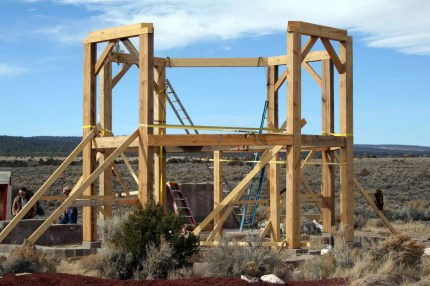 octogon timber frame