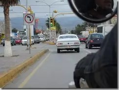 Driving through Monclova Mexico