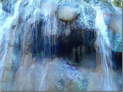 hot springs waterfall guatemala 9