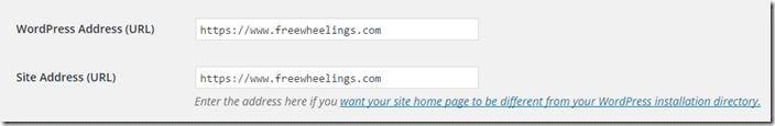 WordPress Admin HTTPS
