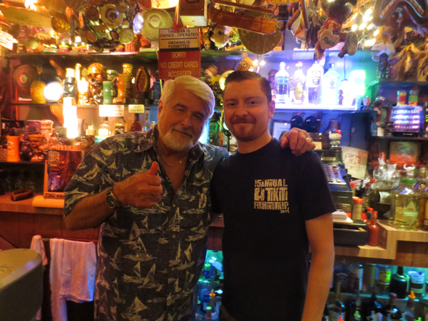 Michael and Mark, owners of the Tiki Ti