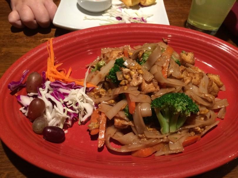 Pad see yoo at Suwannee Thai Cuisine