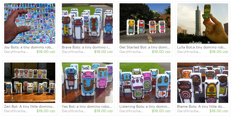 Buy Bots for your loved ones from Gary Hirsch on Etsy