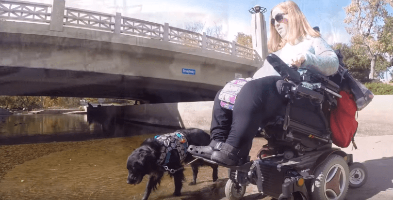 Boulder Creek Colorado is wheelchair accessible