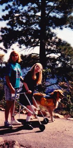 At the Grand Canyon, age 14