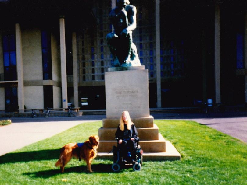 Karin at Stanford