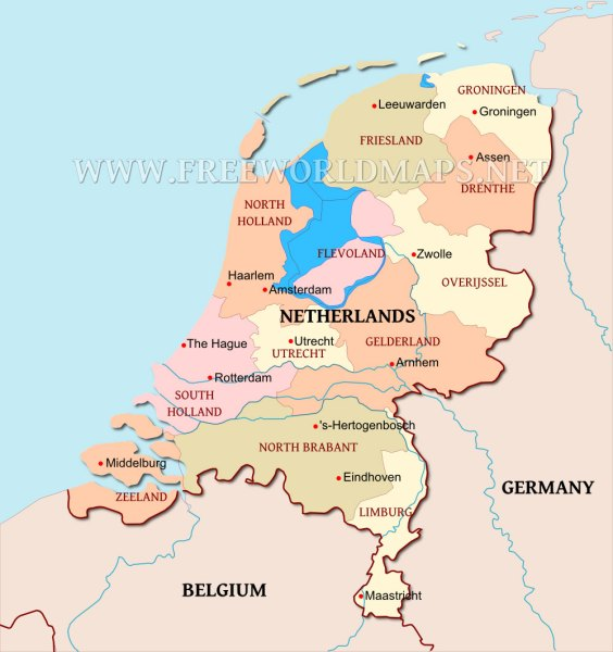 Flevoland location on the netherlands map full hd maps locations political map of netherlands advertisement gumiabroncs Image collections
