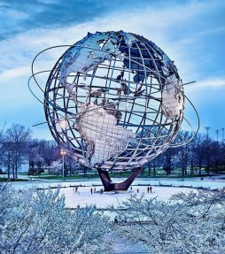Unisphere from 1968 Worlds Fair