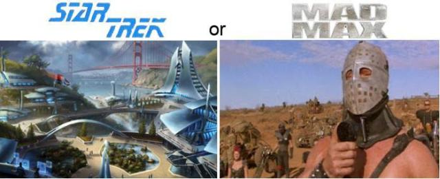 Societies: Star Trek vs Mad Max