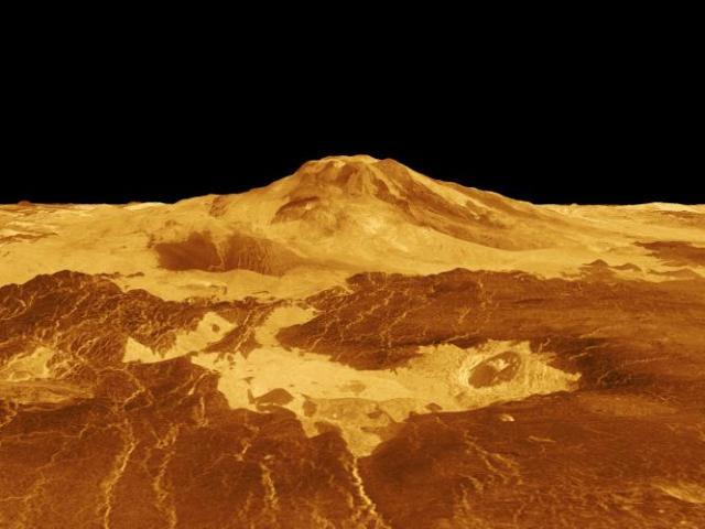 Venus - Maat Mons (from NASA)