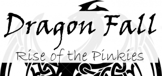 Dragon Fall Rise of the Pinkies logo