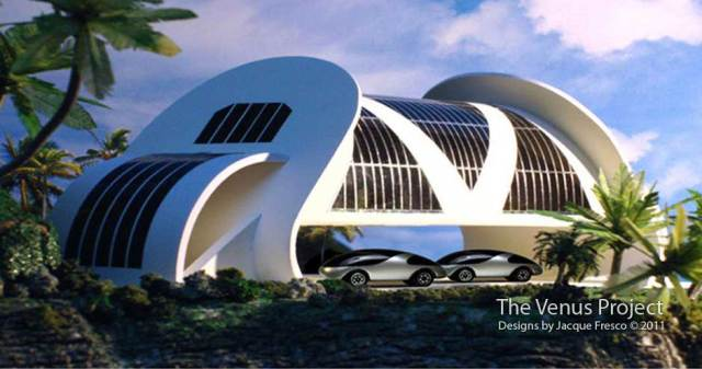 Elevated Home (The Venus Project)