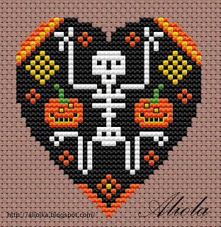 Skeleton Heart Freebie