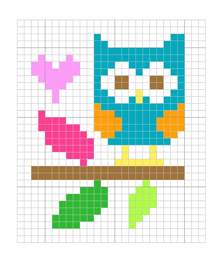 Blue Owl Freebie from The Stitching Shed