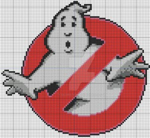 ghostbusters free cross stitch pattern