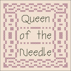 queen of the needle scissor fob free cross stitch pattern