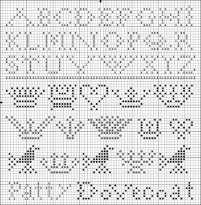 free sampler cross stitch pattern from Kathy Barrick