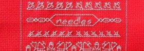 cute little needleroll free cross stitch blackwork pattern from stitch-creations