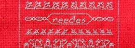 cute little needleroll free cross stitch blackwork pattern from stitch-creations