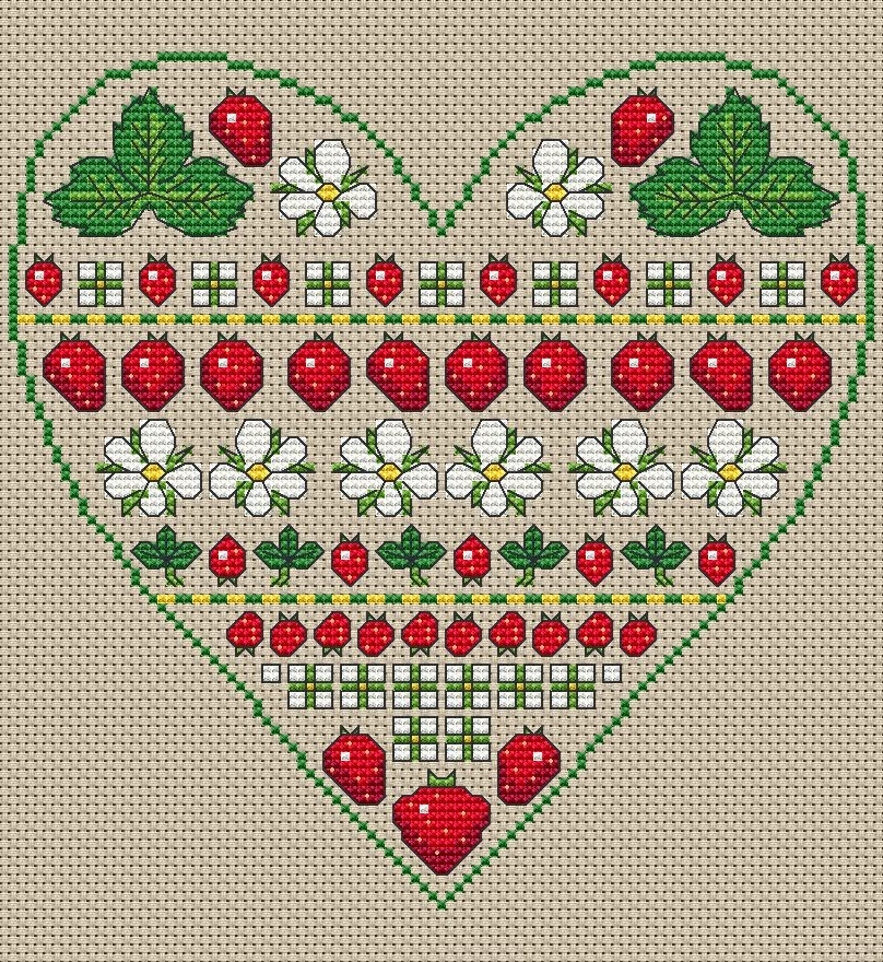 Strawberry Heart from Amanda Gregory