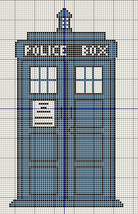 3 Amazing Free Doctor Who Cross Stitch Patterns from Buzy Bobbins