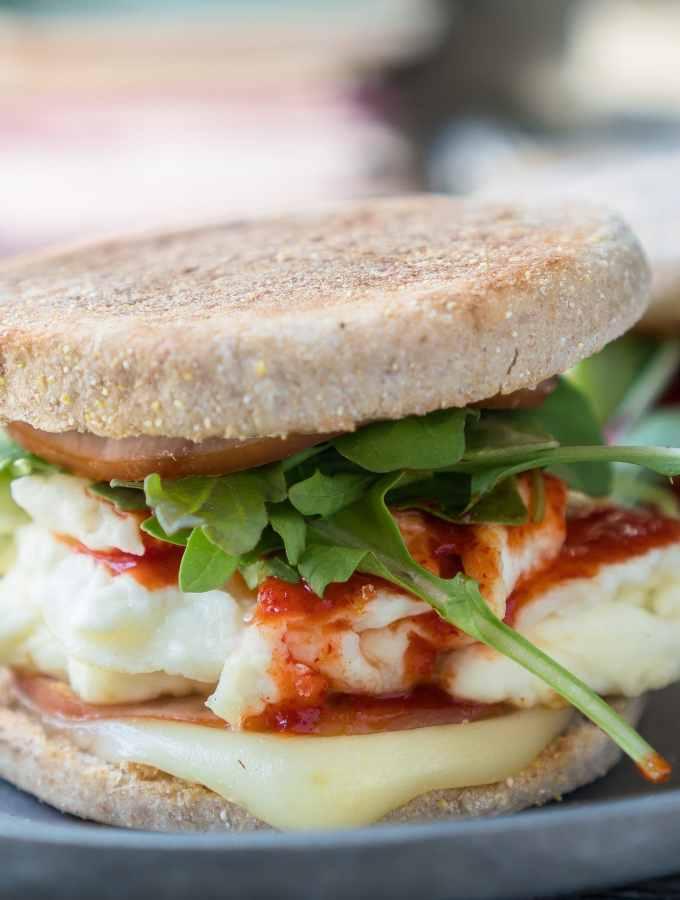 10 Minute Breakfast Sandwich Square