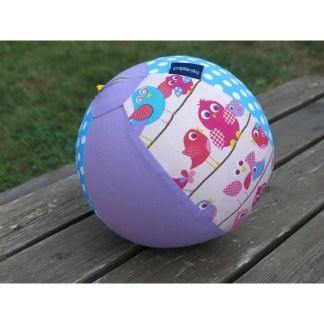 Ballonhülle Vögeli rosa