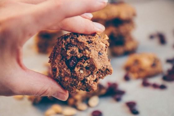 Maca Peanut Cookies