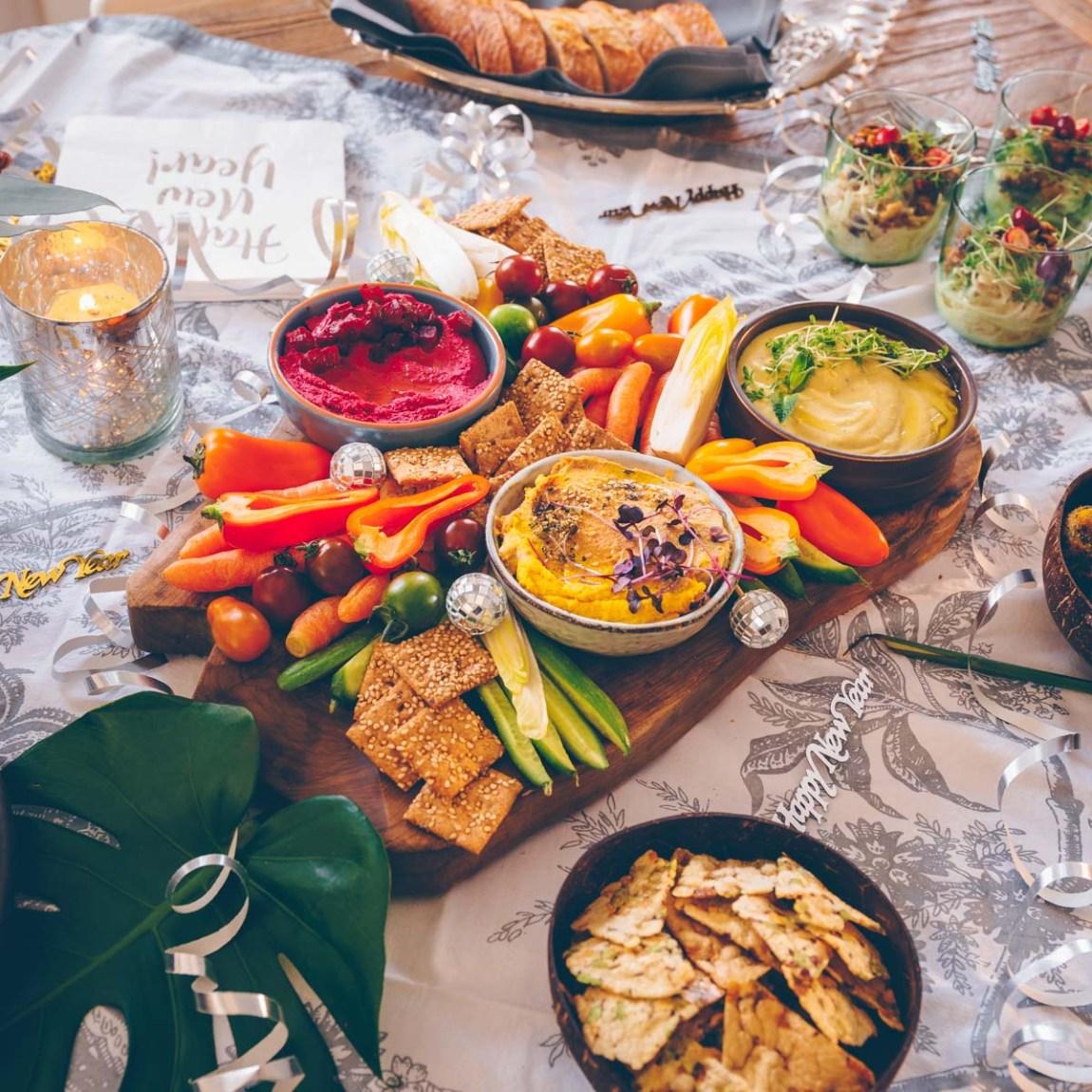 Silvester Party vegan