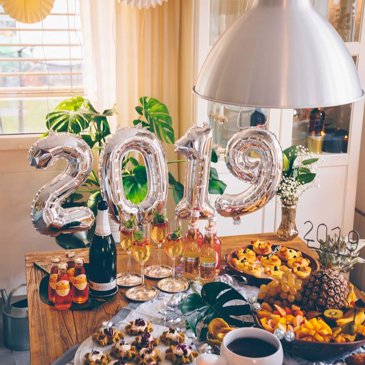 vegane Silvester Party 2018