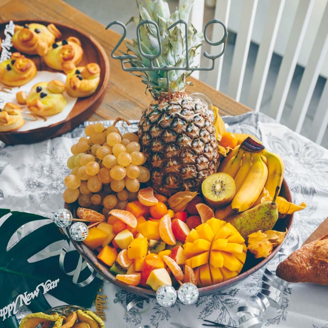 Silvesterbuffet vegan: Schokoladenfondue