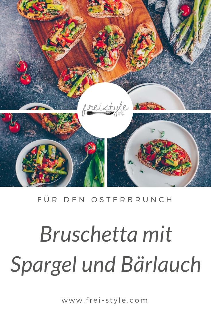 Bruschetta mit Spargel & Bärlauch