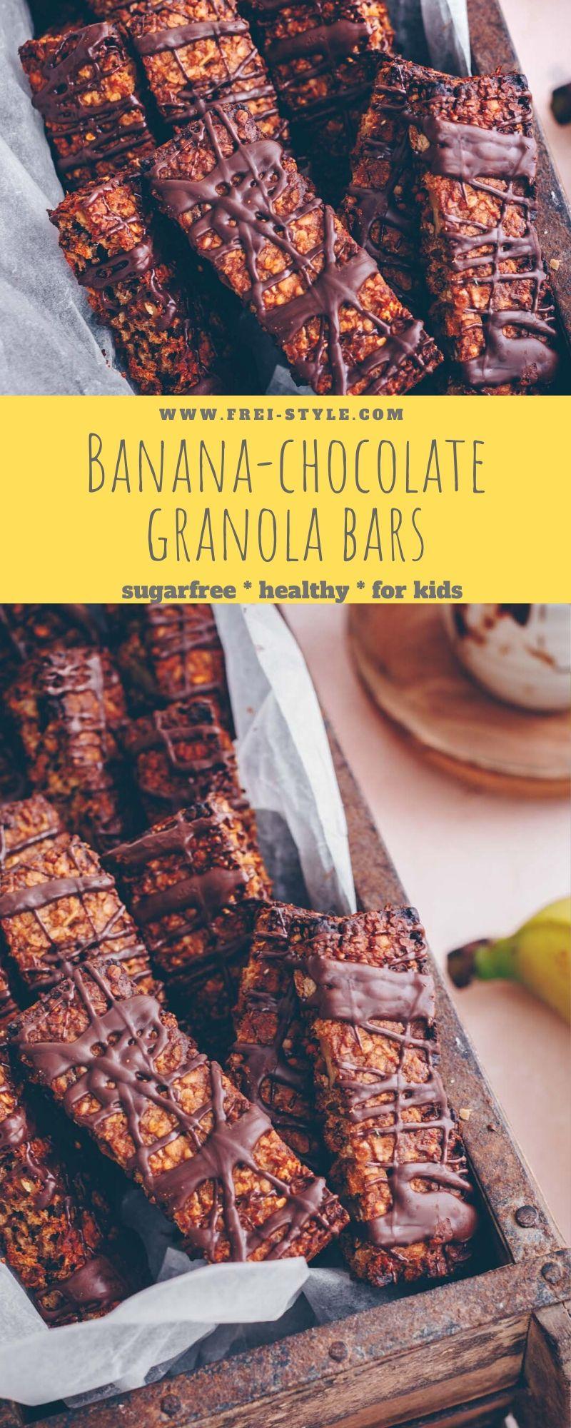 Banana Chocolate Granola Bar