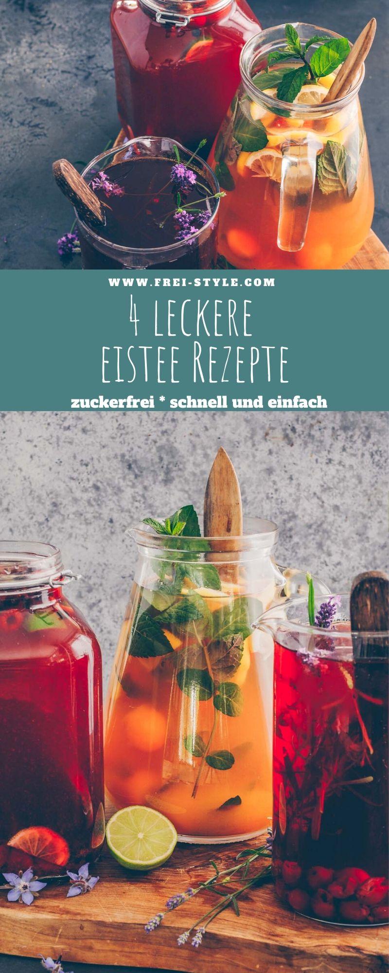 4 leckere Eistee-Rezepte