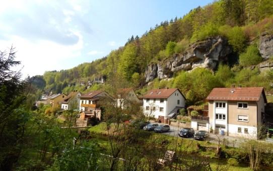 Brauereiweg der Gemeinde Aufseß in der Fränkischen Schweiz