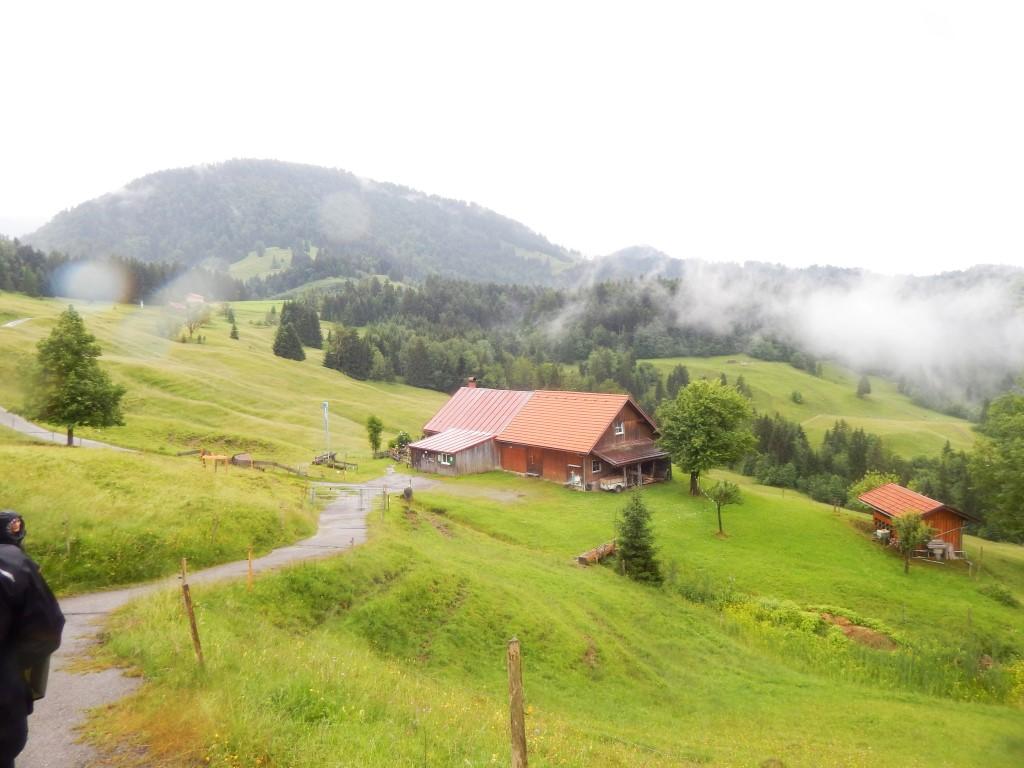 Hündle im Allgäu Rundweg : Moosalpe - Sennalpe Sonnhalde - Neugreuth Alpe - Buchenegger Wasserfälle