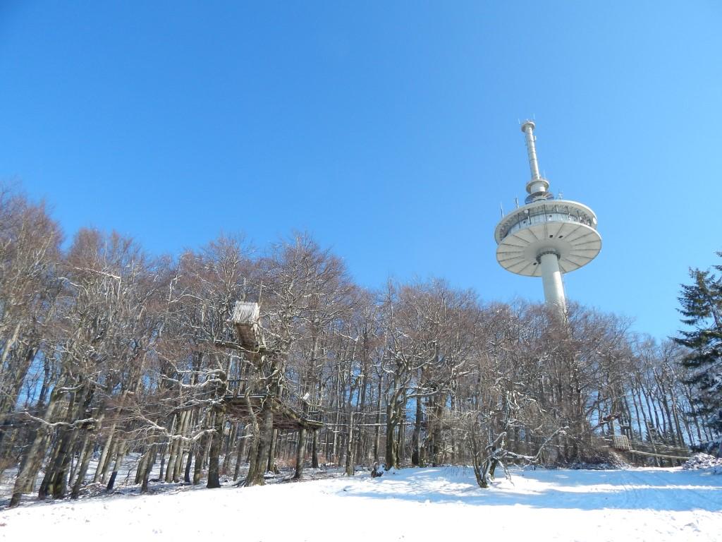 Winterwanderung entlang der GipfelTour Schotten am Hoherodskopf