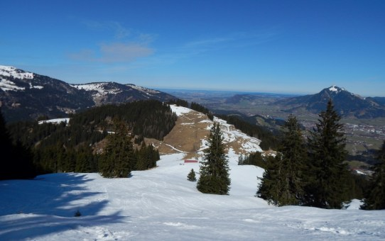 Ofterschwanger Horn und Sigiswanger Horn – Schneeschuhwanderung im Gunzesrieder Tal im Allgäu
