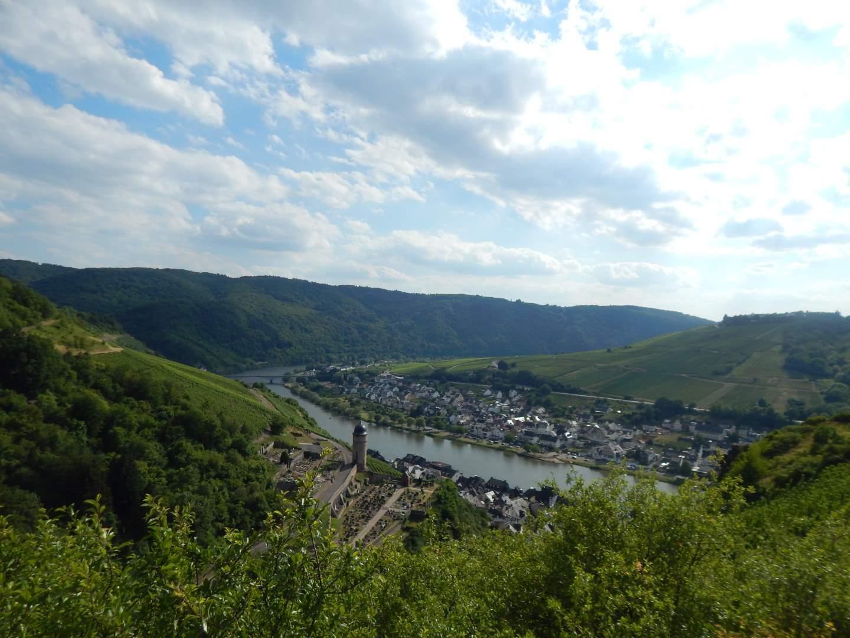 Klettersteig Vogesen : Collis steilpfad mit klettersteig über zell an der mosel freiweg